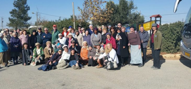 Women In Green Spend a Day Strengthening and Being Strengthened In Ofra, Amona, and Netiv Avot By Lisa Melamed