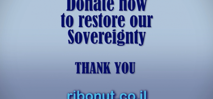 HERE WE GO !! The fundraising campaign for Sovereignty is starting TODAY.